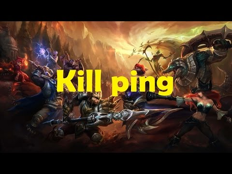 League of legends reduce ping with kill ping + download link