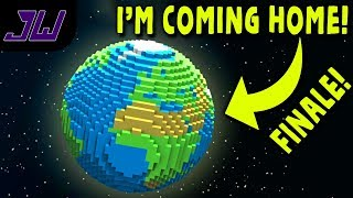 I'M COMING HOME! - Series Final | Minecraft Galacticraft Mod -  Asteroid Challenge | Episode 6