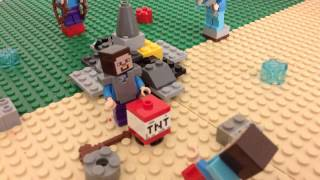 Ultimate Lego minecraft Hunger Games 4