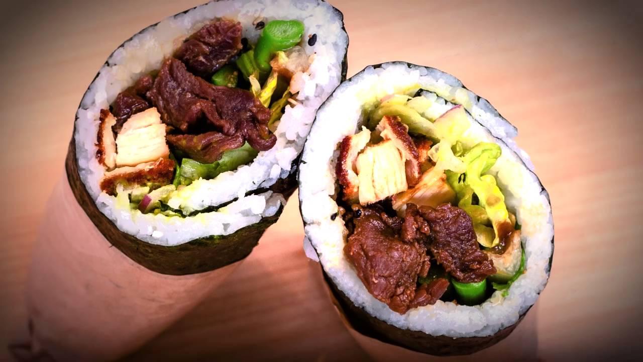 Poukei Sushi Burrito Restaurant Las Vegas Strip