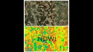 Calculating NDWI( Water Index) in ArcGis