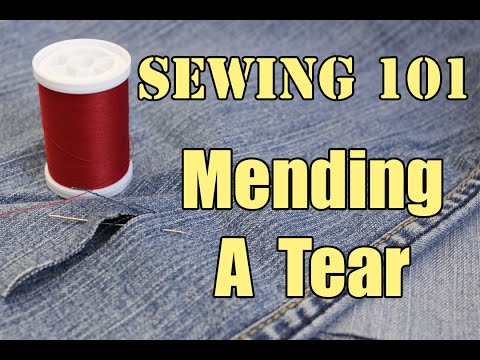 sewing-101:-mending-a-tear