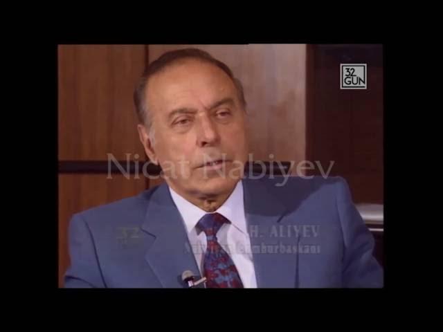 Heyd?r ?liyevin 1992-ci ild? Türkiy? kanal?na verdiyi müsahib?.