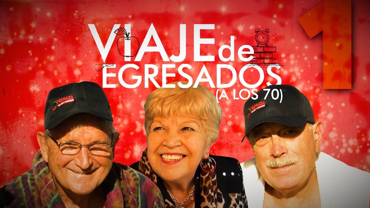 Viaje de egresados a los 70 años - Telefe Noticias - YouTube