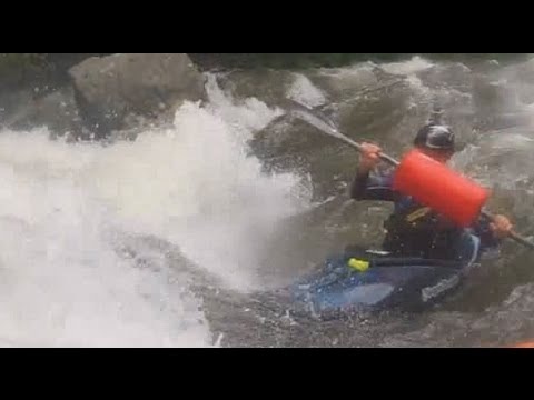 Kayaking the Savage River with a Hi-N-Dry Rolling Aid - Son's POV