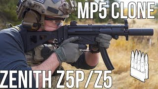 Zenith Z5P/Z5 (MP5 / MP5K high quality clones)