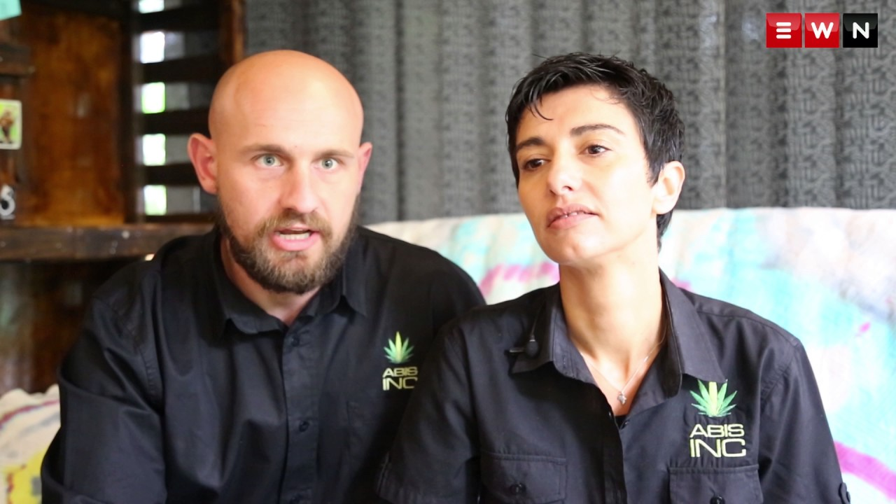 South Africa's first open weed dispensary.
