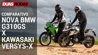 COMPARATIVO: NOVA BMW G310GS x KAWASAKI VERSYS-X