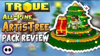 BEST MOUNT IN THE GAME FOR NEW PLAYERS!? ✪ Trove All-Pine ArtisTree Pack Review