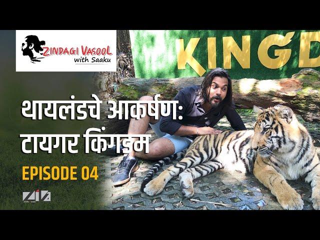 Tiger Kingdom at Phuket Thailand | Zindagi Vasool with Saaku Ep.04 | Pradnyesh Molak #ZivaStudios