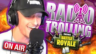 NEW Fortnite Radio Voice Trolling! *Hilarious Reactions!* | Best In Class