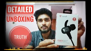 REALLY WORTH THE PRICE Tantra Power Boat Bluetooth headphones UNBOXING