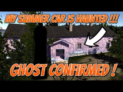 My Summer Car The Haunted Mansion Ghost Confirmed Youtube
