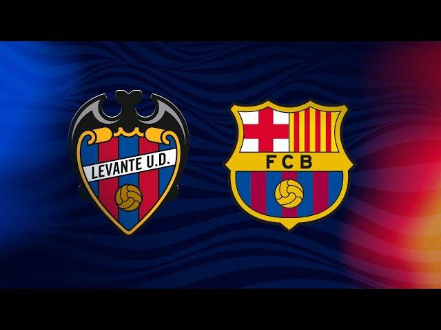 COPA DE CAMPEONES | Levante UD - FC Barcelona