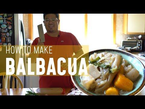 BOHOL BALBACUA: how to make