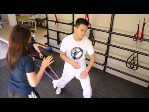 Sports Rehab Taekwondo at CoreXpert Physical Therapy Center