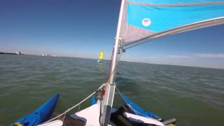 Trimaran vs Catamaran. Expandacraft