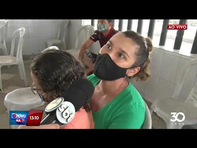 Pessoas com 27+ recebem a primeira dose em Cabedelo - O Povo na TV