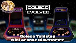 Coleco Tabletop Mini Arcade Kickstarter