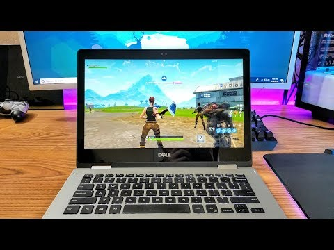 Playing FortNite On Budget Laptop