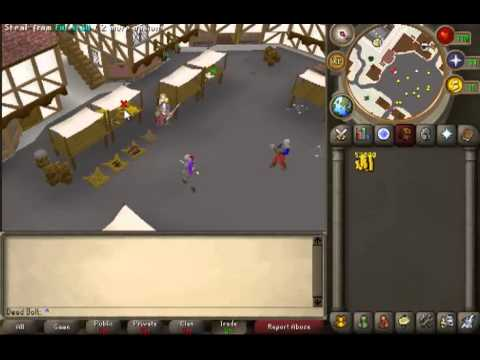 1 99 Thieving Guide Commentary 247soulsplit Youtube
