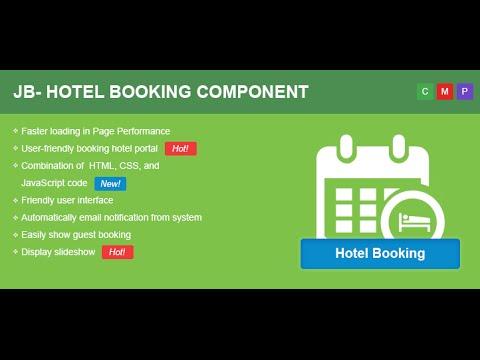 Hotel Joomla Booking Component -  Joomla Extensions