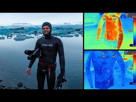 Wetsuits For Spearfishing - Thermal Imaging Shows Why I Use A Smooth Skin