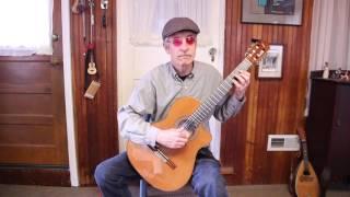 the sloop john b, for solo guitar