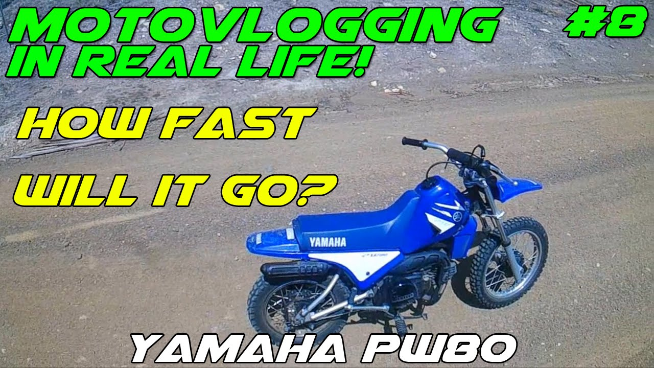 Motovlogging In Real Life 8 80cc Top Speed Youtube