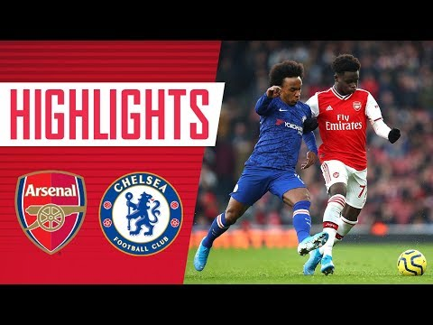 HIGHLIGHTS   Arsenal 1-2 Chelsea   Premier League   Dec 29, 2019