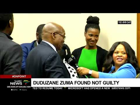 DISCUSSION: Duduzane Zuma not guilty