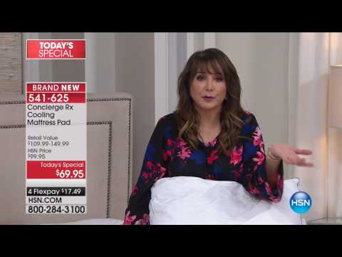 HSN | Concierge Collection RX Bedding 08.06.2017 - 08 AM