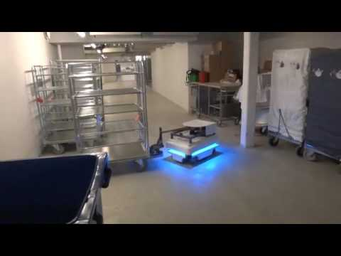 Mir mobile industrial robots towing cart youtube - Mobel industrial ...