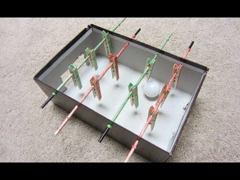 יצירת משחק כדורגל שולחן