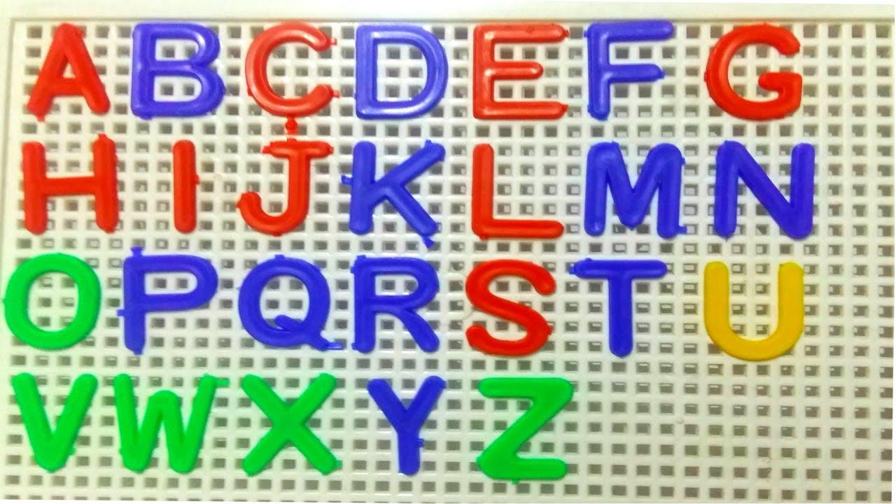Alphabet Blocks ABC Letters Order & Find Alphabets Learn Colors