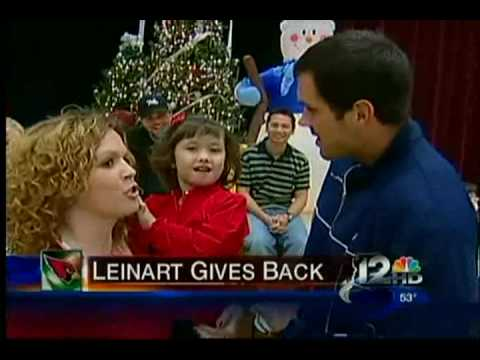 Matt Leinart and the Arizona Cardinals play Santa to Save the Family