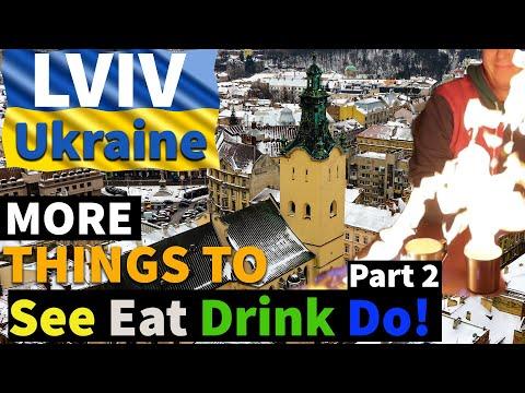 MORE Things To DO EAT \u0026 DRINK In LVIV   Winter In LVIV   Part (2)