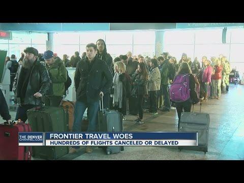 Delays plague Frontier Airlines passengers at DIA