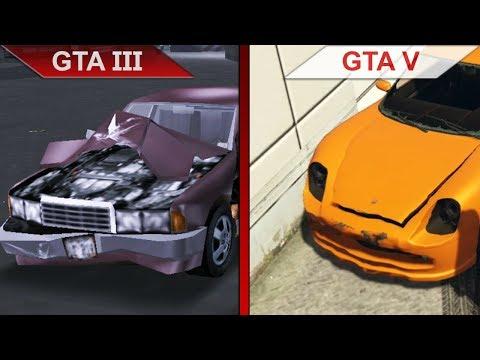 HUGE GTA III Vs. GTA V COMPARISON | PC | ULTRA