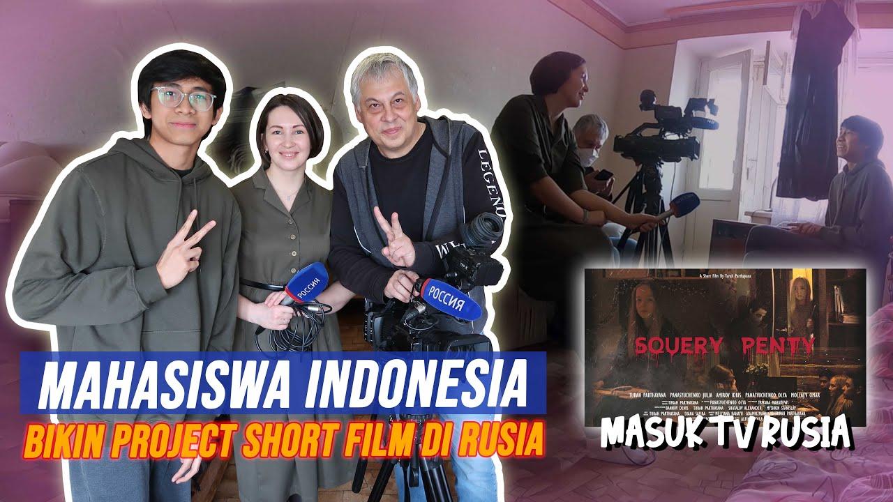 """TURAH MASUK BERITA TV RUSIA! - SHORT FILM SIBERIA """"SQUERY"""