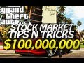 GTA 5 - 0,000,000 Stock Market Trick (Easy Money Tutorial) D