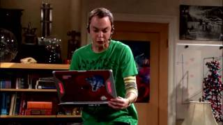 funny scene from the big bang theory german