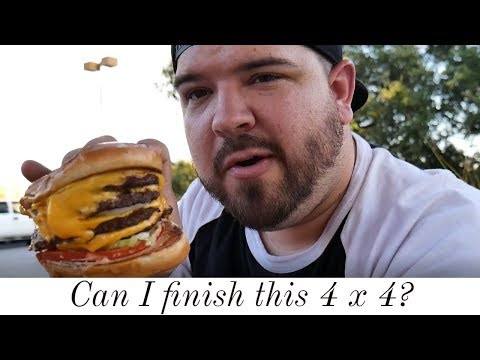 In-n-out 4 by 4 burger review