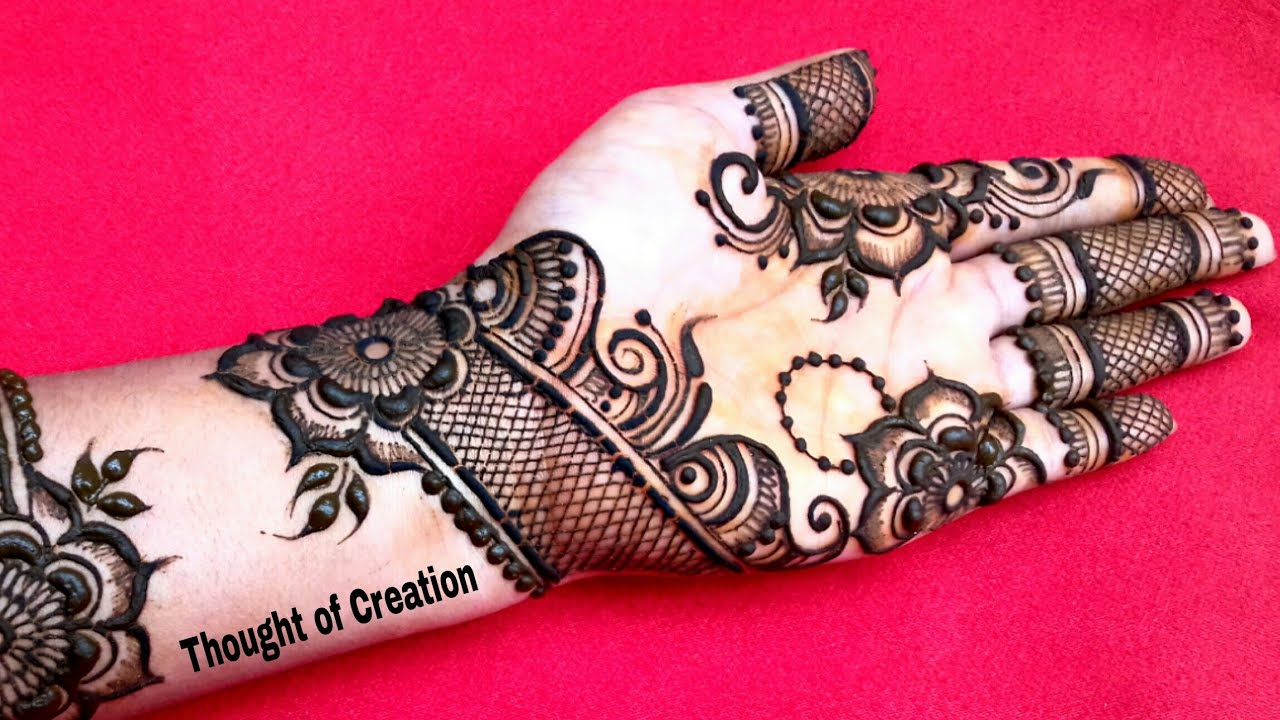 New Arabic Mehndi Design for Hands |Thought of Creation #1