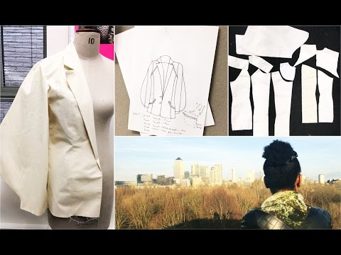 FOLLOW ME TO SCHOOL - A day in the Life of a Fashion Student - Kim Dave