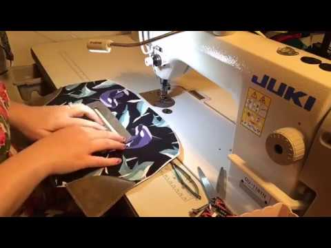 Part 2: Making the Lola Domed Handbag by Swoon Sewing Patterns - YouTube