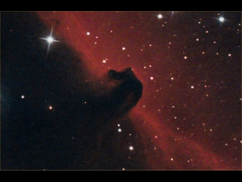Horsehead Nebula Captured With QHY10 One Shot Color, 2/18/2017