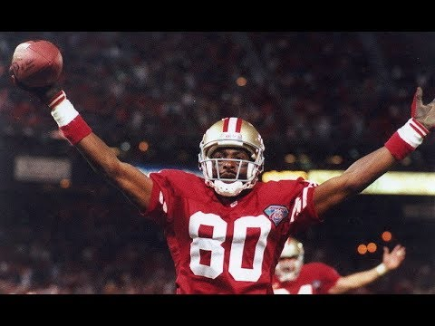 Jerry Rice All Career 50+ Yard Touchdowns | NFL Highlights HD