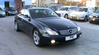 2005 Mercedes CLS 350 V6  Full Review,Start Up, Engine, and In Depth Tour