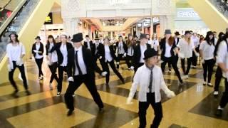Флешмоб в память Майкла Джексона в Липецке. LRNews.ru